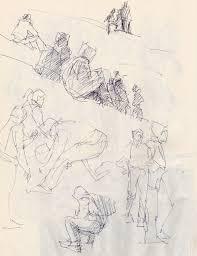 terry miura u2022 studio notes sketching people