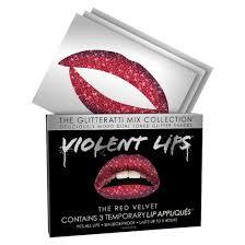 Lip Tattoos On - temporary lip tattoos glitterati mix collection target