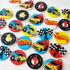 hot wheels cake toppers cars fondant cupcake toppers hot wheels cupcake toppers