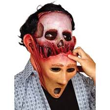 Halloween Mask Two Face Halloween Scary Mask