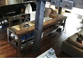 metal kitchen islands industrial kitchen island home inspiration ideas