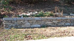 Blue Ridge Landscaping by Rustic Dry Stack Retaining Wall Welcome To Mcguire Building