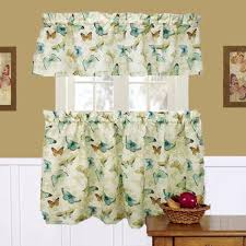 Butterfly Kitchen Curtains by Wings And Butterfly Kitchen U0026 Tier Curtains Saturday Knight