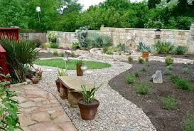 River Rock Garden Bed Rock Garden Ideas Pinterest In Dainty River Rock Garden Ideas
