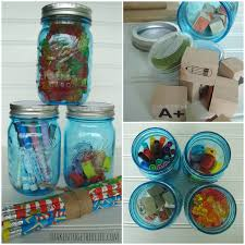 back to teacher gift diy mason jar caddies
