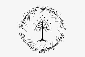 visual design lord of the rings design white tree of go