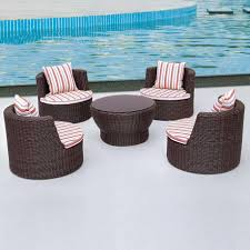 Circular Patio Seating Chairs Unique Round Patio Chair Style Outside Round Table With