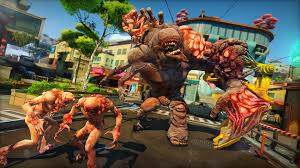 Monster Vs Aliens Halloween by Sunset Overdrive Turns The Post Apocalypse Into An Energy Drink