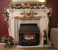christmas fireplace garland ideas inspirationseek com