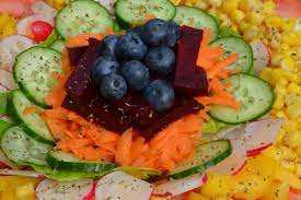 a delightful colourful rainbow salad the hay diet recipes