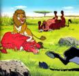 นิทานอีสป เรื่องสิงโตกับวัว - BKKSEEK.