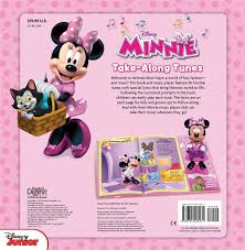 minnie s bowtique disney minnie take along tunes book by disney minnie mouse
