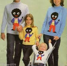 knitting pattern for family golliwog jumpers so wrong i it