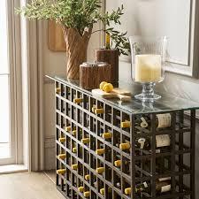 Cricova Wine Rack Console Table Oka