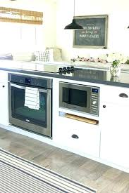 kitchen island with microwave microwave in island microwave island cabinet microwave kitchen
