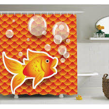 Decorative Home Best 25 Orange Shower Curtains Ideas On Pinterest Orange Shower
