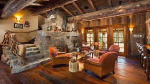 living room with vaulted ceiling plush rustic cabin living room with vaulted ceiling and wood