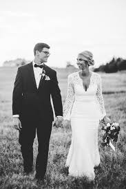 black and white wedding modern black and white wedding with emerald ruffled