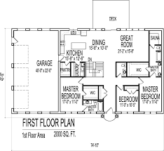 one floor home plans 2000 sq ft house plans 3 bedroom single floor one story designs