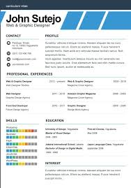 single page resume template one page resume template