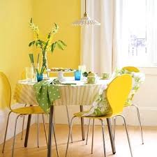 Yellow Dining Room Ideas Yellow Dining Room Cursosfpo Info