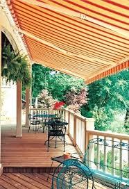Homemade Deck Awning Deck Awnings Retractable Castlecreek Retractable Awning Linen