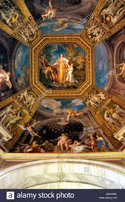 painting and ornaments in ceiling vatican museum vatican rome