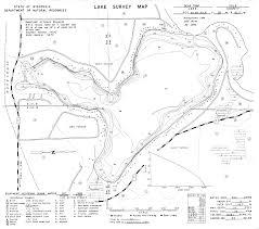 Wisconsin Lake Maps Lake Maps Lake Wapogasset And Bear Trap Sanitary District