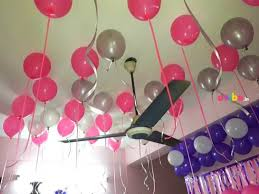 balloon decoration for birthday at home birthday balloon decoration for home in hyderabad birthday simple