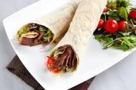 cuisiner viande à fondue wrap ou sandwich à la viande à fondue recettes du québec
