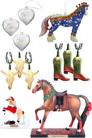 ornaments decor horses heels
