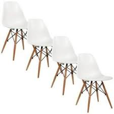 lot 4 chaises blanches lot de 2 chaises scandinaves bovary plexi blanc chaise design