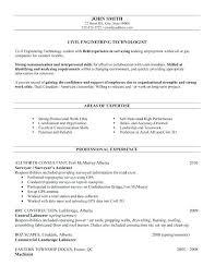 it engineer resume sample civil engineer technologist resume