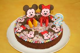 gateau anniversaire animaux gâteau d u0027anniversaire mickey et minnie pour juliette 2 ans les