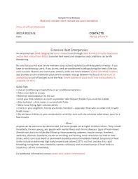 doc 460595 press release template sample u2013 6 press release
