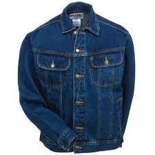 Rugged Wear Clothing Wrangler Jackets Men U0027s Rjk30 An Denim Rugged Wear Antique Indigo