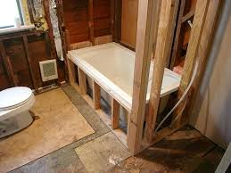 drop in tub look with shower ceramic tile advice forums