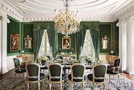 mediterranean dining room with wainscoting u0026 columns zillow digs