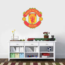personalised manchester united fabric wall sticker buy personalised manchester united fabric wall sticker buy online india best price