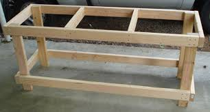 l shaped garage garage workbench astounding free simple garage workbench plans