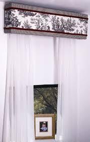 Making A Valance Window Treatment How To Make A Custom Window Cornice With Styrofoam Curtains