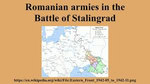 Stalingrad On Map Romanian Armies In The Battle Of Stalingrad Youtube