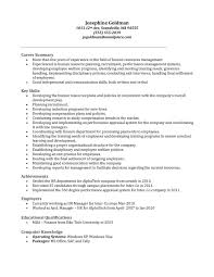Resume Sample For Hr Manager by Human Resources Job Description For Resume Fancy Human Resources