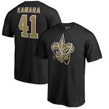 mardi gras shirts new orleans men s nfl pro line by fanatics branded alvin kamara black new
