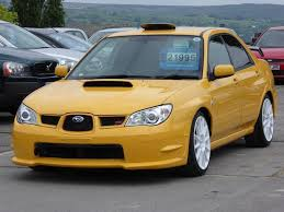 subaru yellow 2007 subaru impreza 2 0 wrx sti spec c type ra r cars and motorbikes