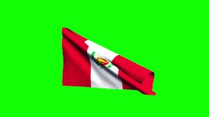 Lima Flag Free Hd Video Backgrounds U2013 Peru Flag Waving On Green Screen 3d