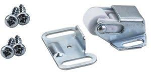 Cabinet Door Roller Catch by Cabinet Door Latch Heavy Duty Roller Catch With Strike Plate And