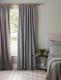 graphite grey blackout pencil pleat curtains secret linen store