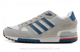 Jual Adidas Original mens adidas originals zx 750 running shoes grey blue adidas