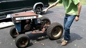 repair troubleshooting ford 120 garden tractor garden tractor info